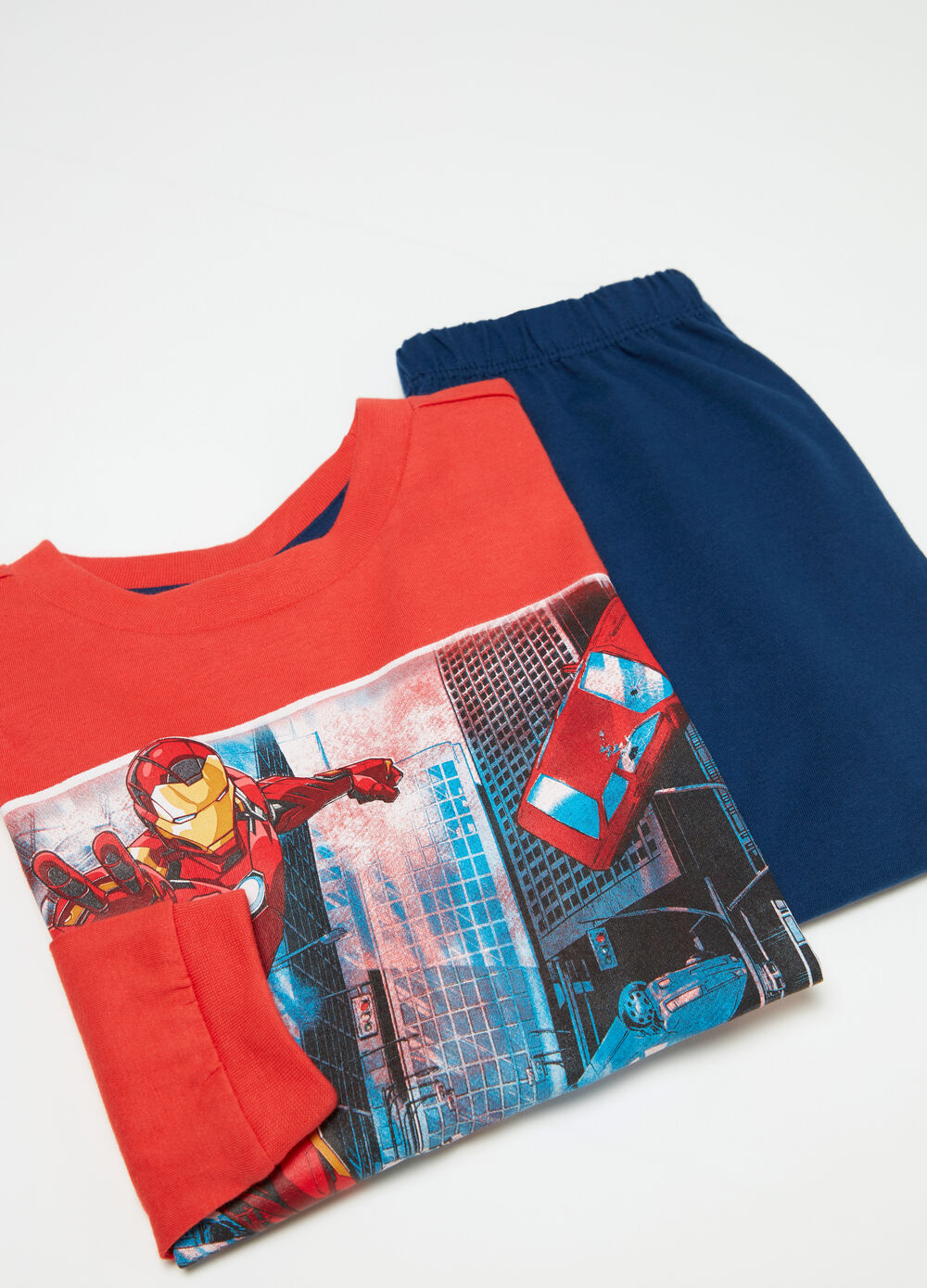 Marvel Avengers pyjamas in lightweight jersey