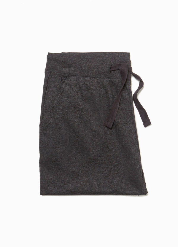 Pyjama trousers with drawstring
