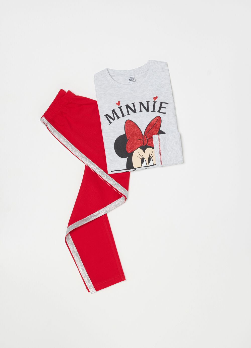 Minnie Mouse glitter pyjamas