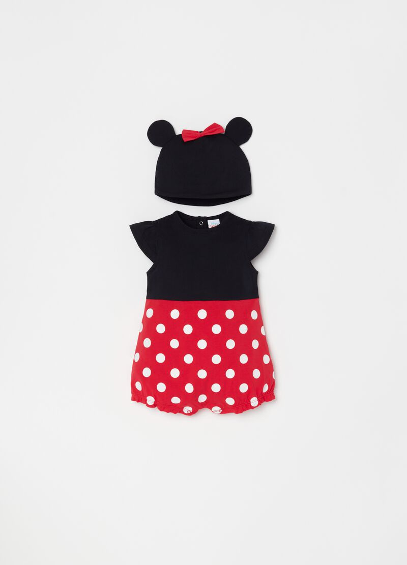 Disney Store Minnie Mouse Baby Outfit Dress Jumper Pant Set Bow New You Choose