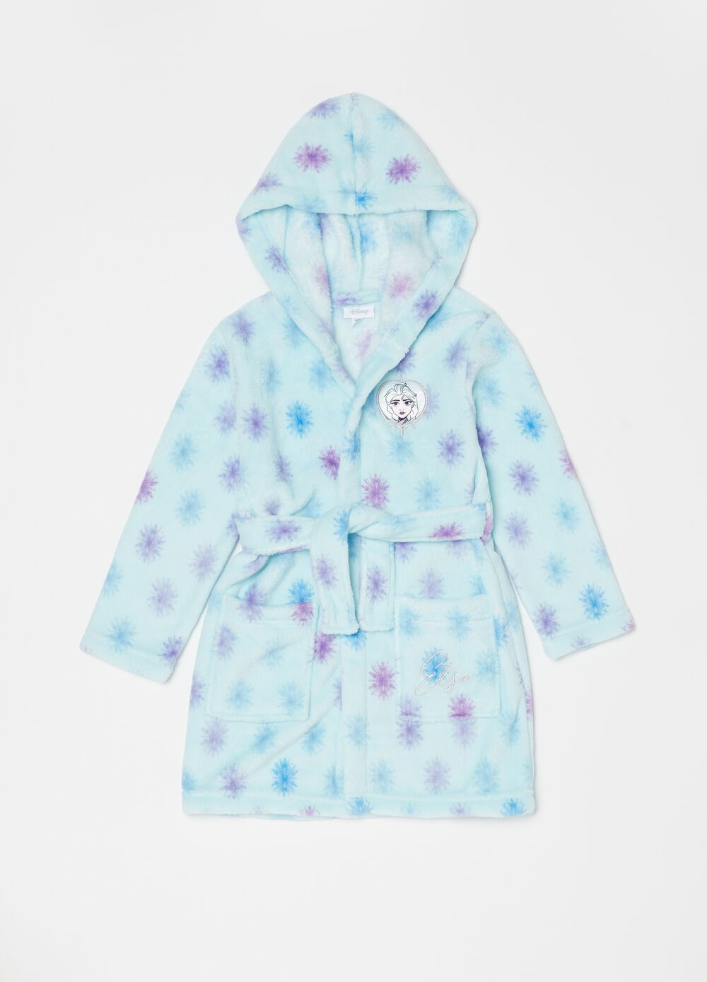 Disney Frozen dressing gown with hood