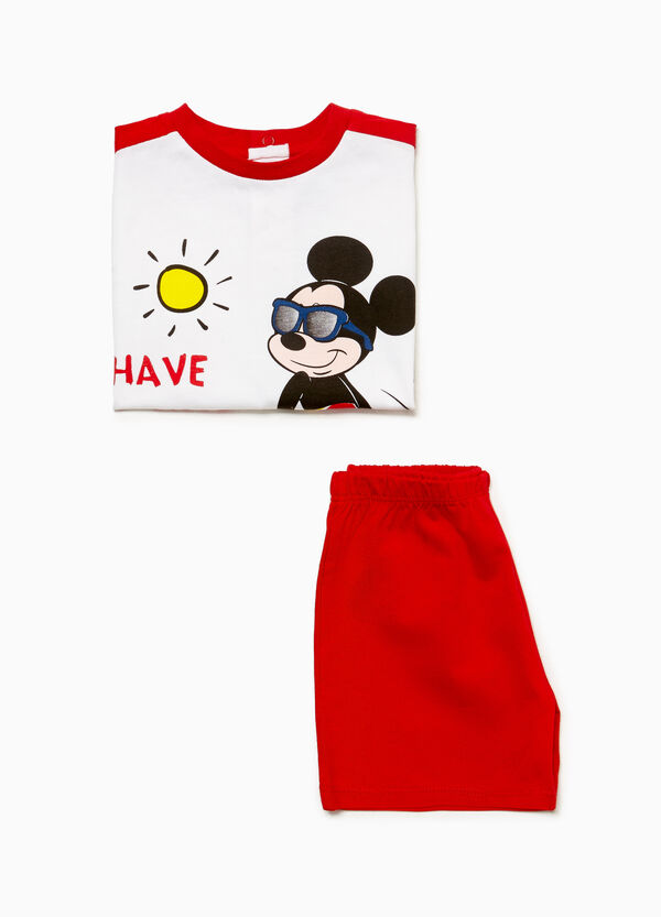 Mickey Mouse cotton pyjamas