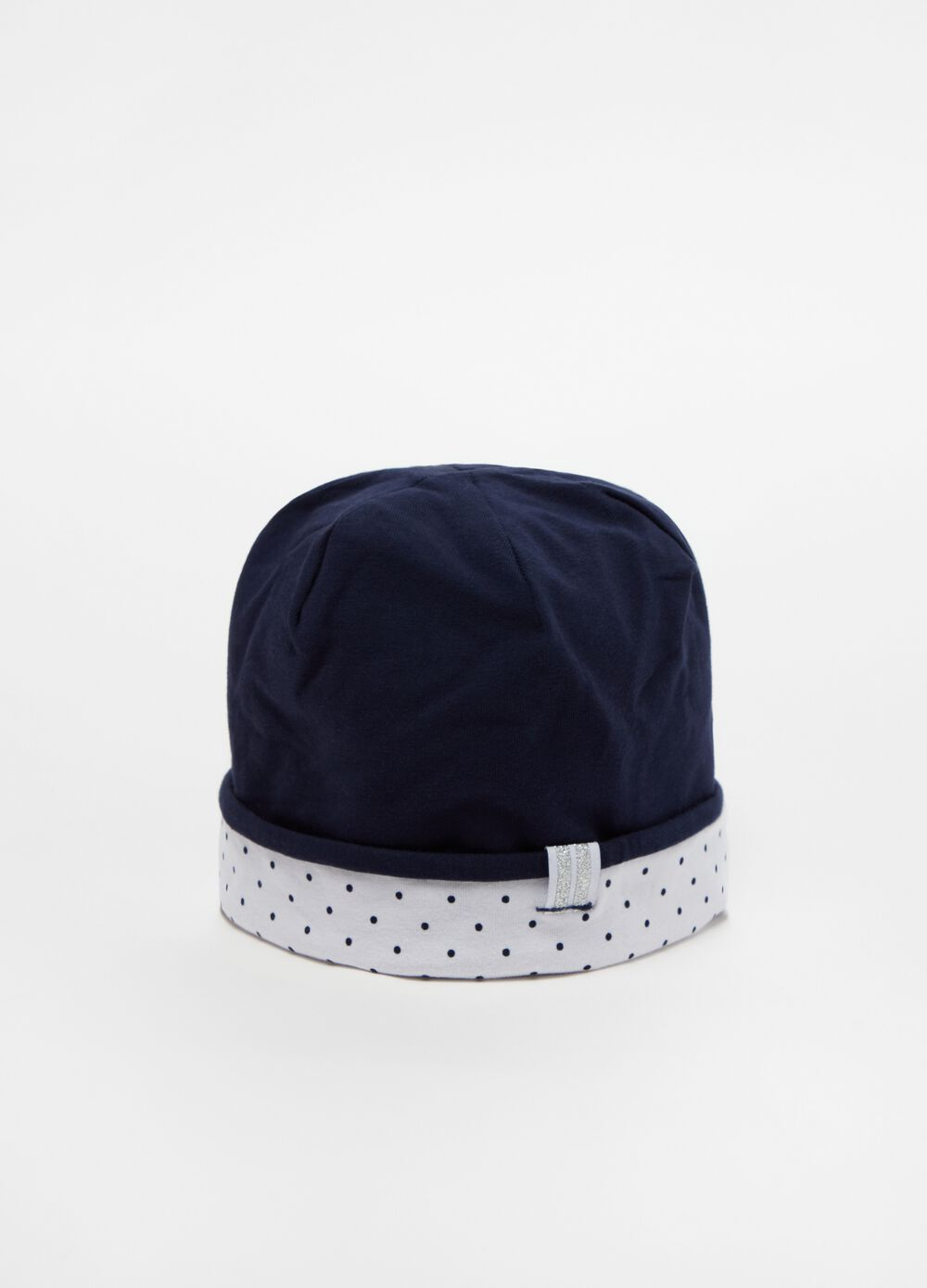 Soft hat in stretch cotton