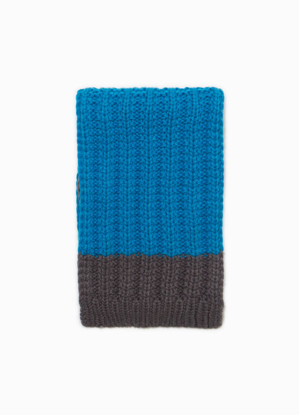 Knitted two-tone scarf | OVS