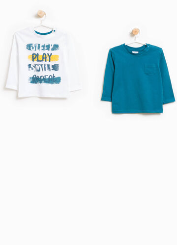 Set of two 100% cotton T-shirts