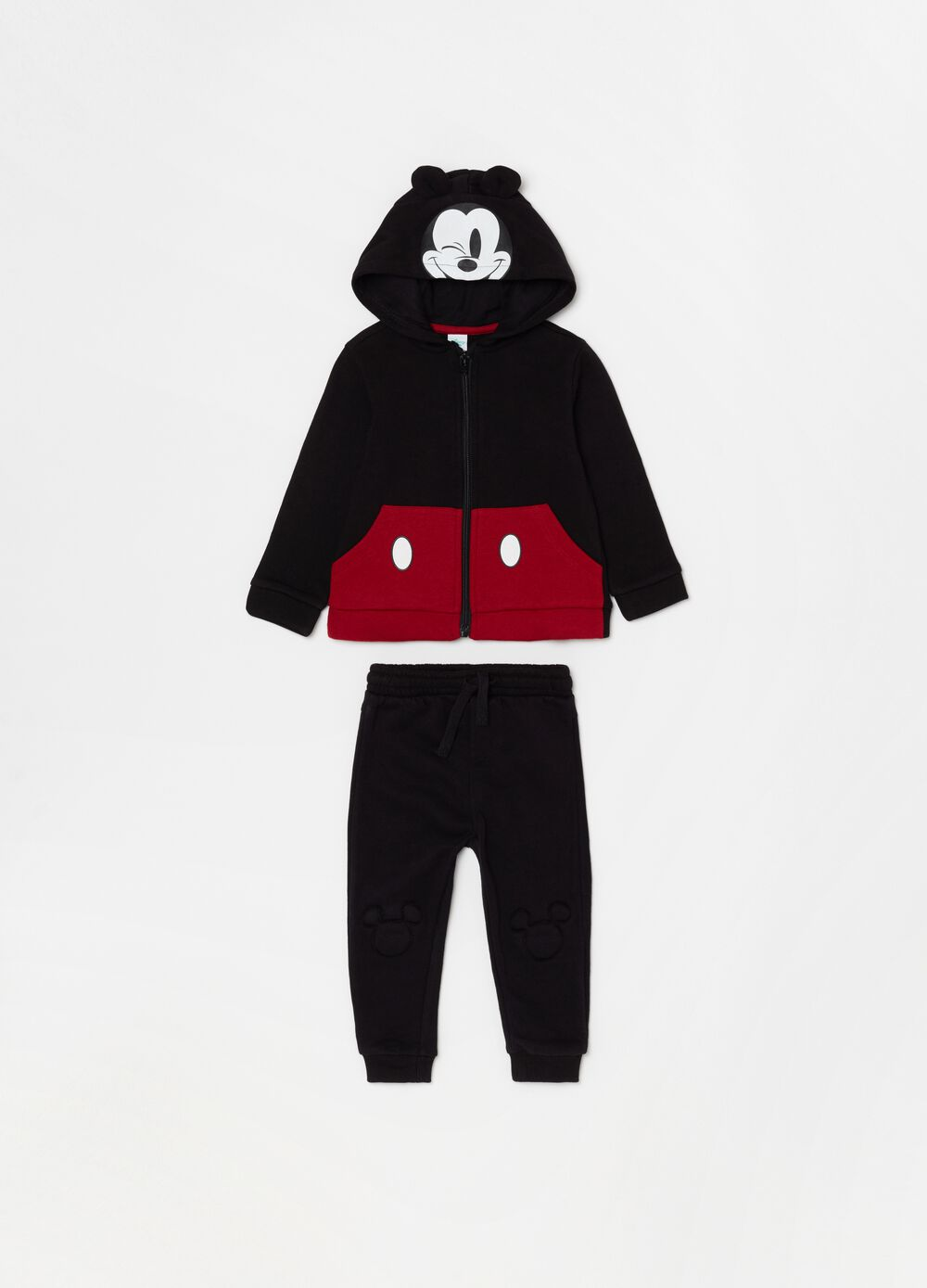 Disney Mickey Mouse jogging set in fleece