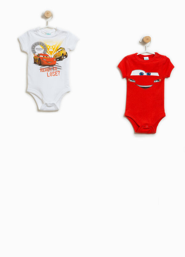 Two-pack bodysuits in 100% cotton with Cars print | OVS