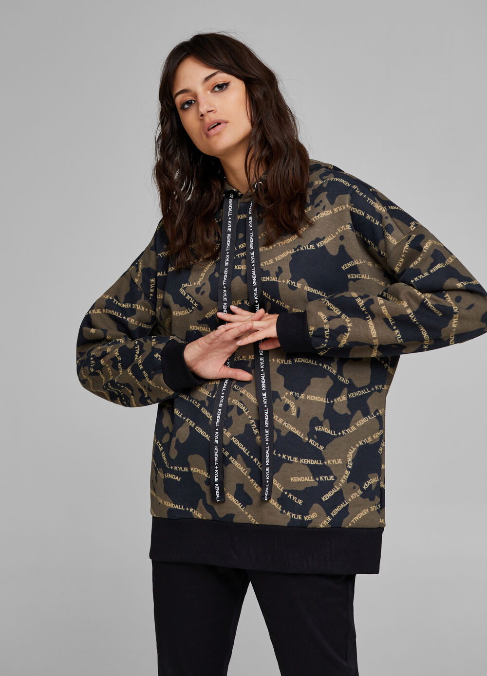 K+K for OVS camouflage sweatshirt