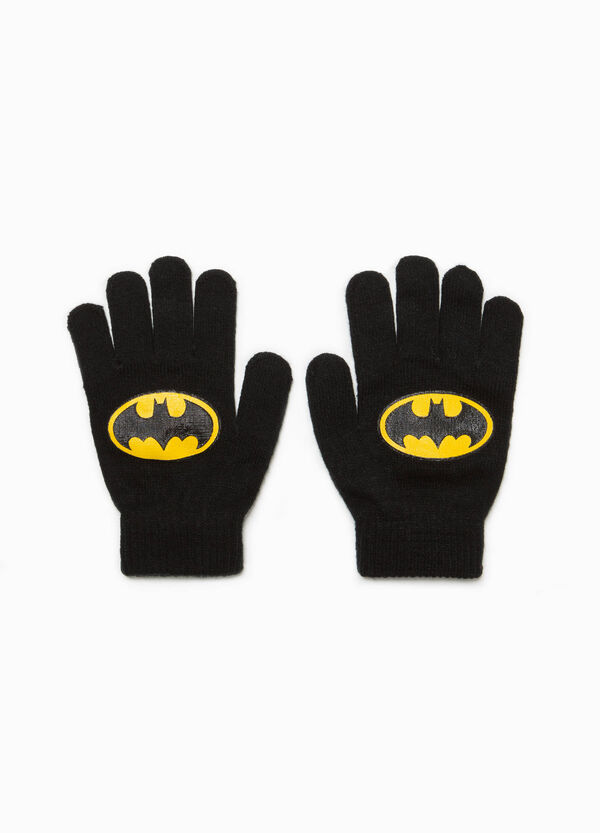 Gloves with Batman print | OVS