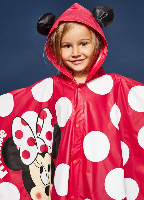 Minnie Mouse raincoat with polka dots | OVS