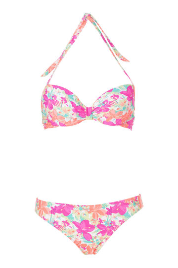 Patterned bikini set