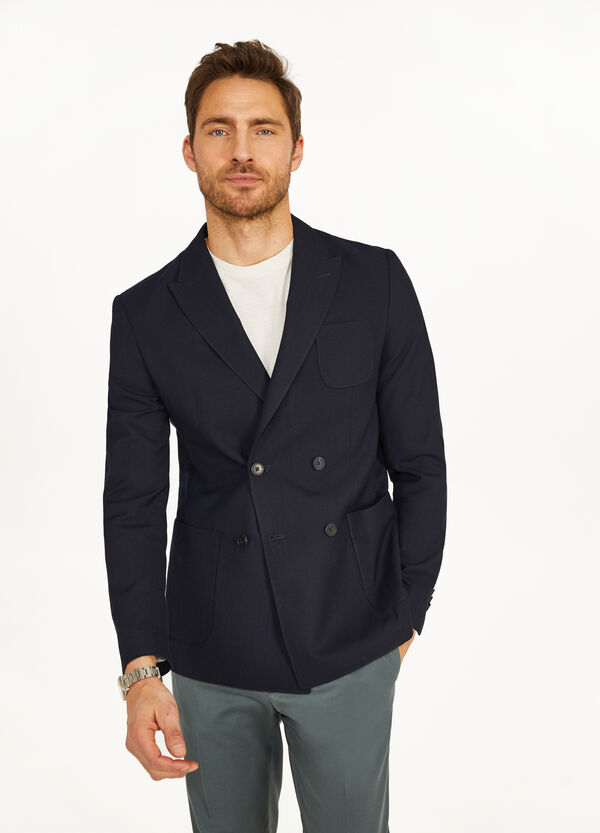 Rumford double-breasted jacket