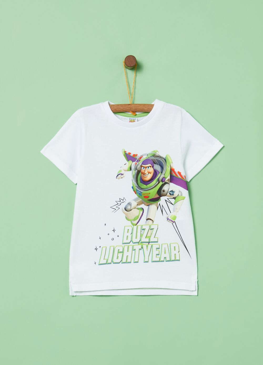 T-shirt with side splits and Toy Story print