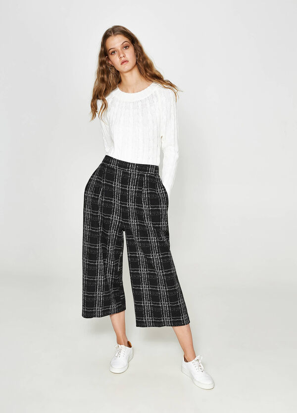 Gaucho model check trousers | OVS