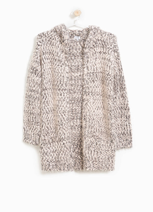 Two-tone knitted cardigan | OVS