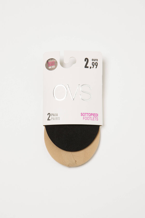 Two-pair pack stretch shoe liners | OVS