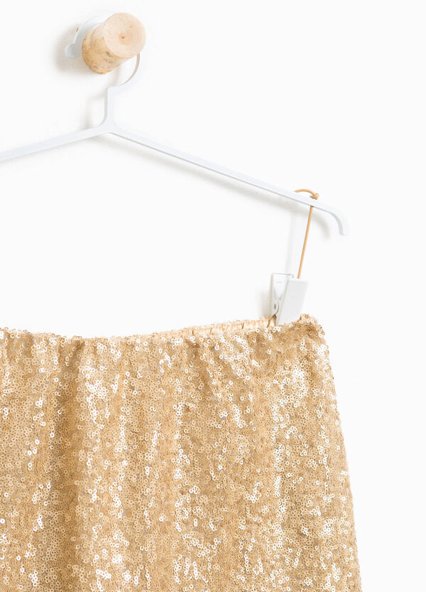 Sequinned skirt | OVS