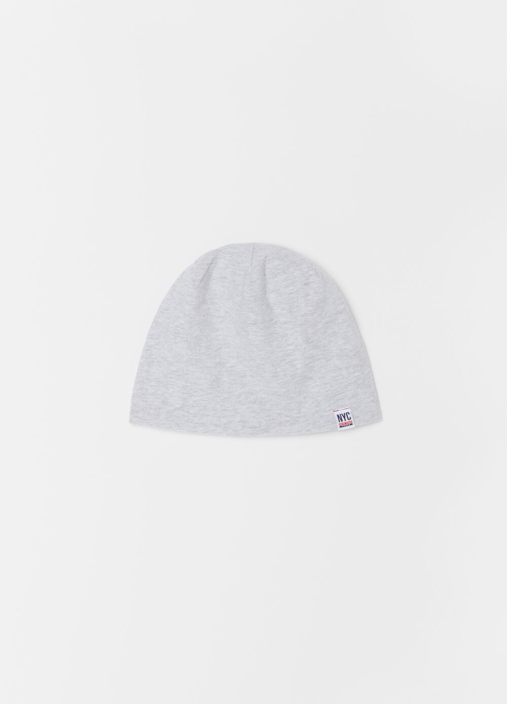 Stretch organic cotton jersey hat.