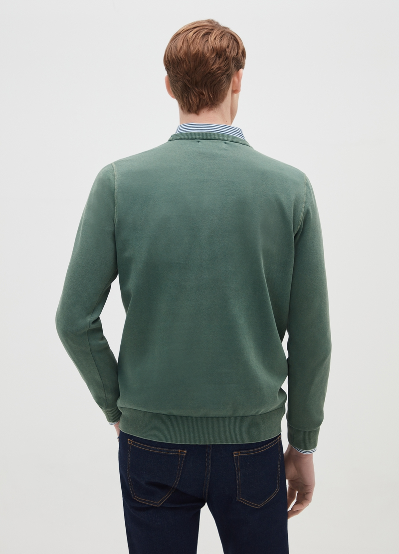 PIOMBO 100% cotton pullover image number null