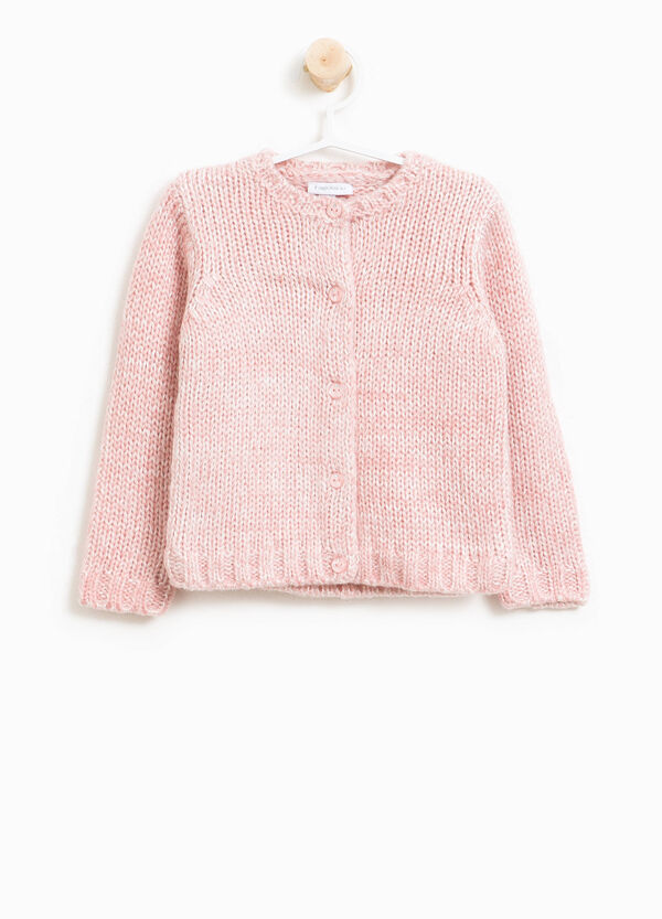 Solid colour knitted cardigan | OVS