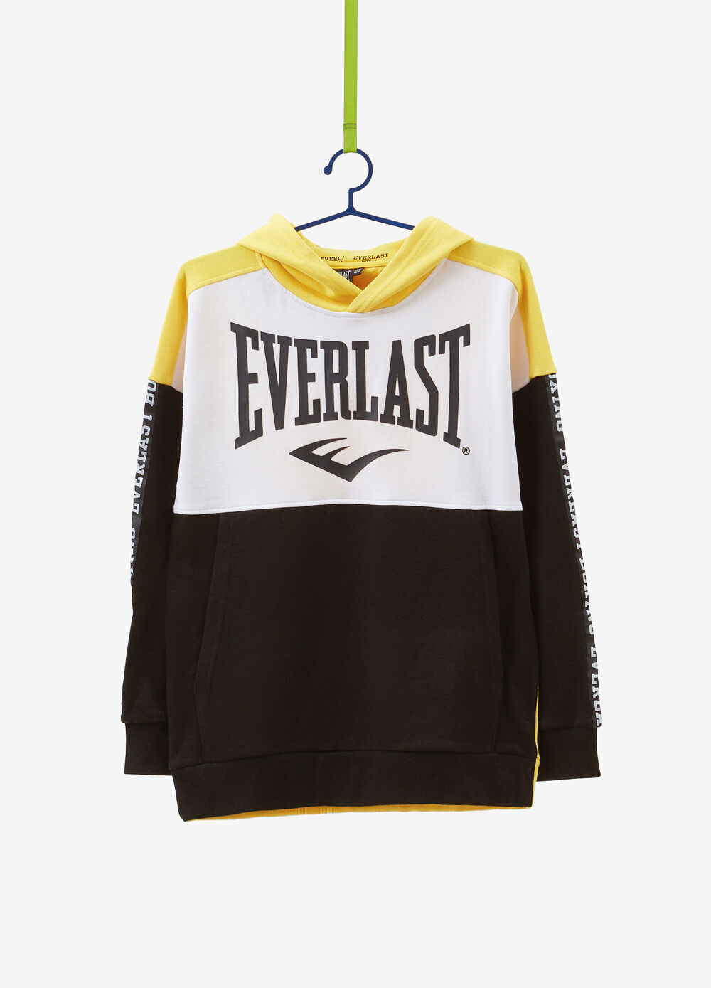 100% cotton hoodie with Everlast print