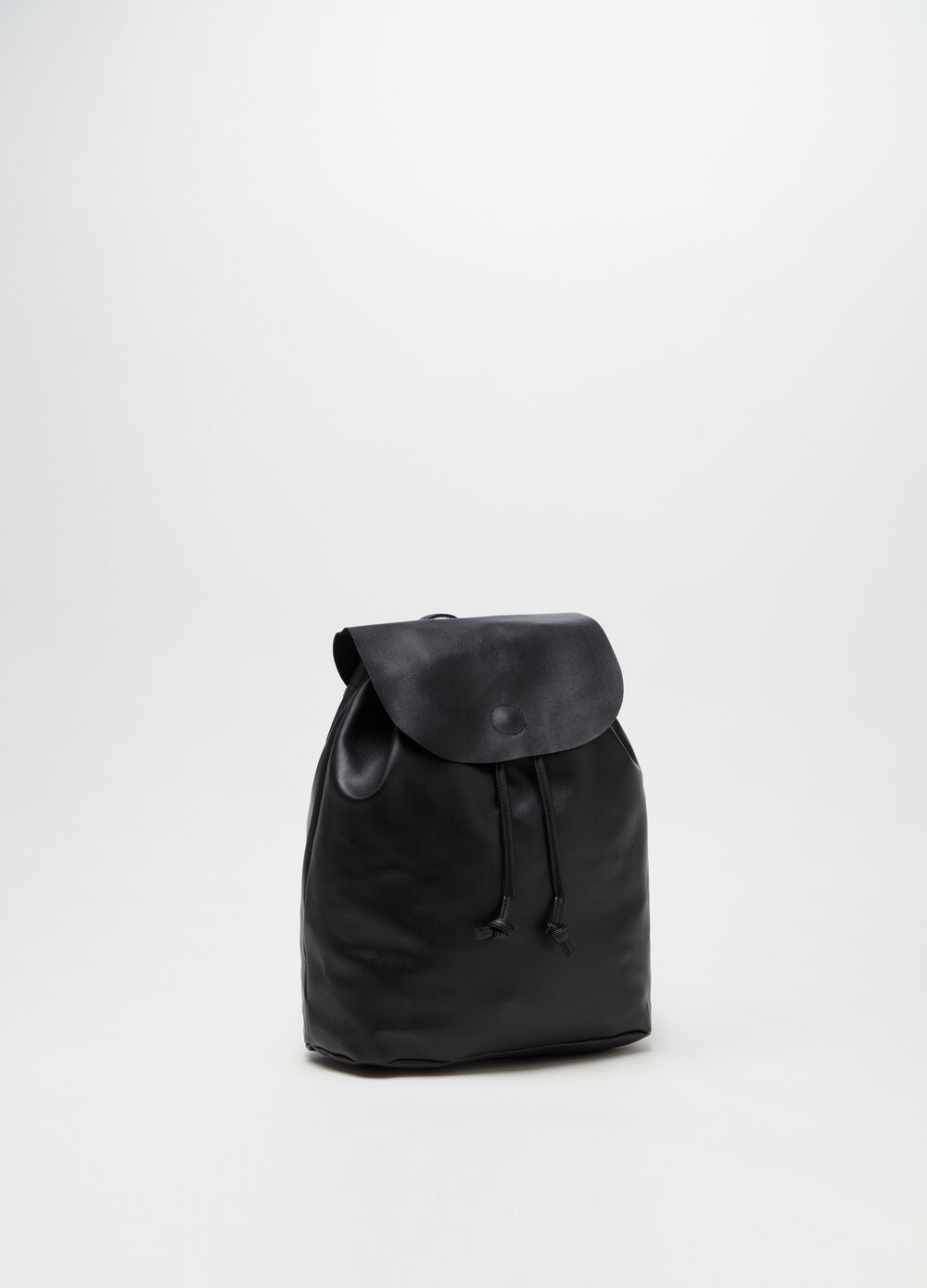 Soft backpack with drawstring