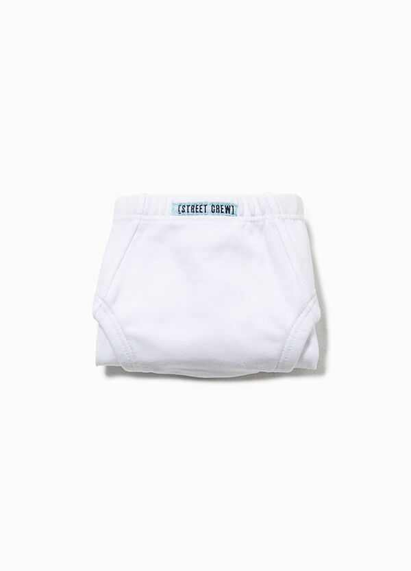 Organic cotton briefs with patches | OVS
