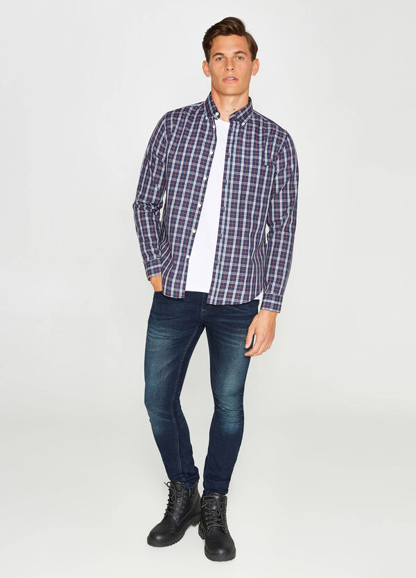 Casual shirt with check pattern   OVS
