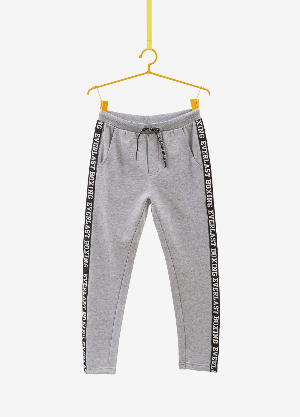 Joggers with bands and Everlast print