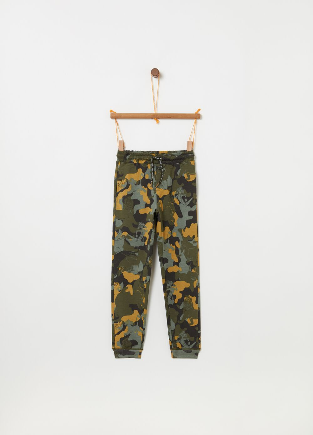 Trousers with Lion King drawstring