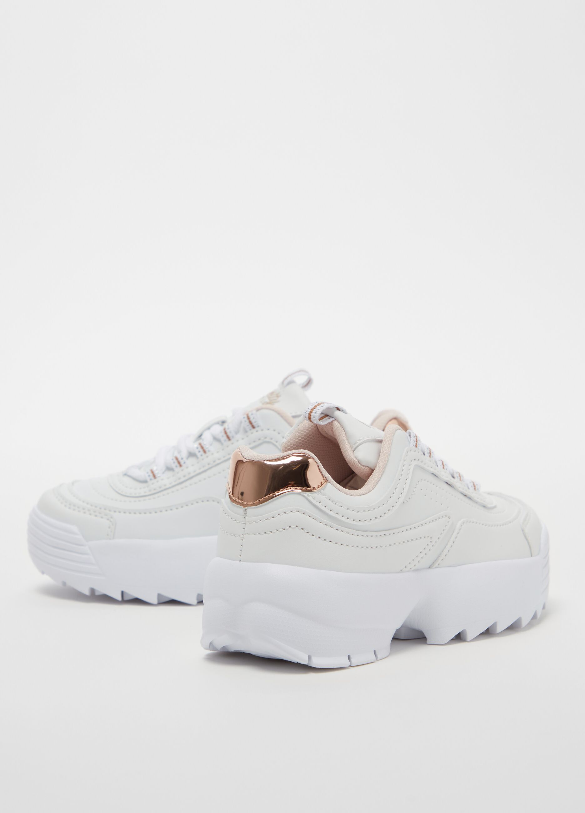 Sneakers with thick sole   OVS-ES