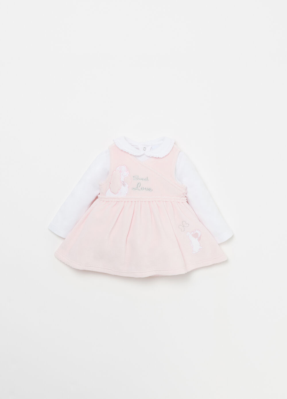Disney Baby T-shirt and dress outfit