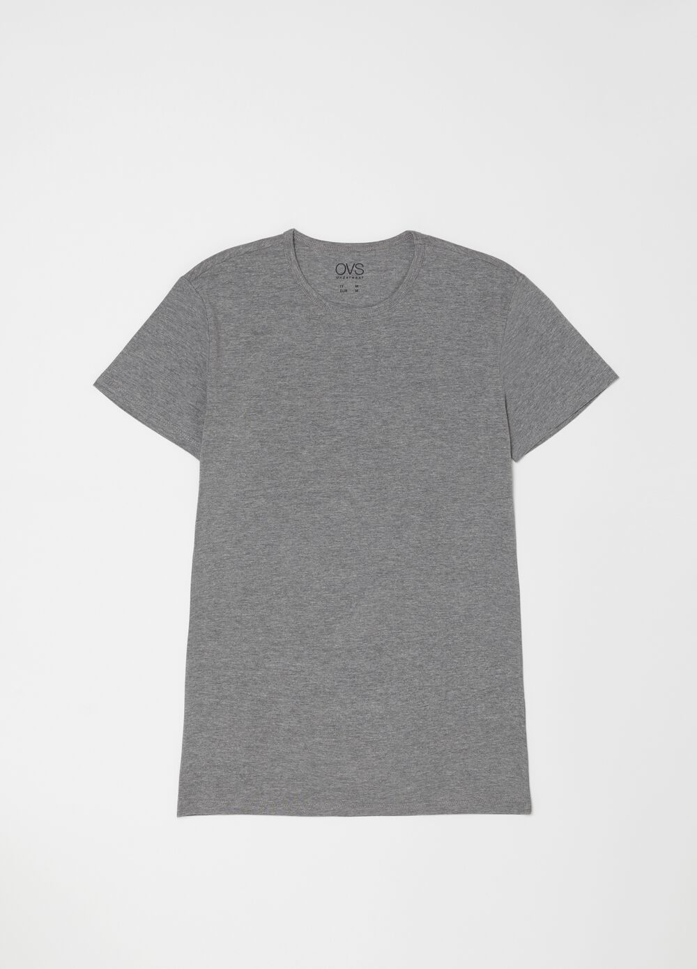 Set due t-shirt intime in cotone stretch