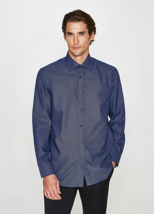 Camicia formale regular fit cotone
