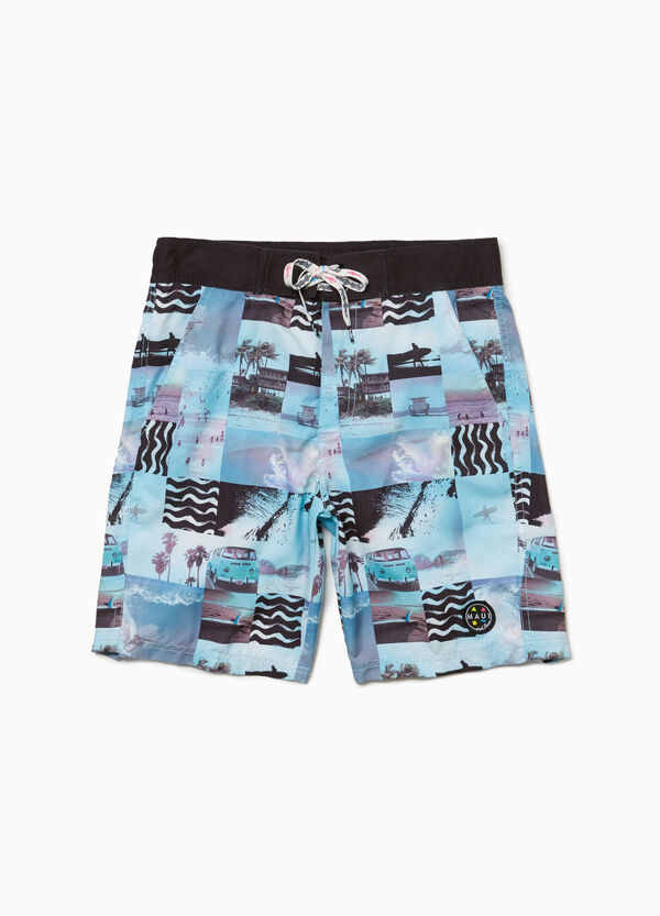 Beach shorts by Maui and Sons