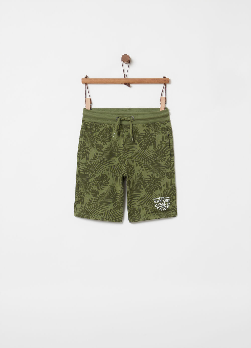 100% cotton floral shorts with pockets