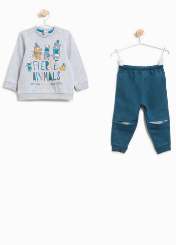 Better Cotton pyjamas with pattern and print