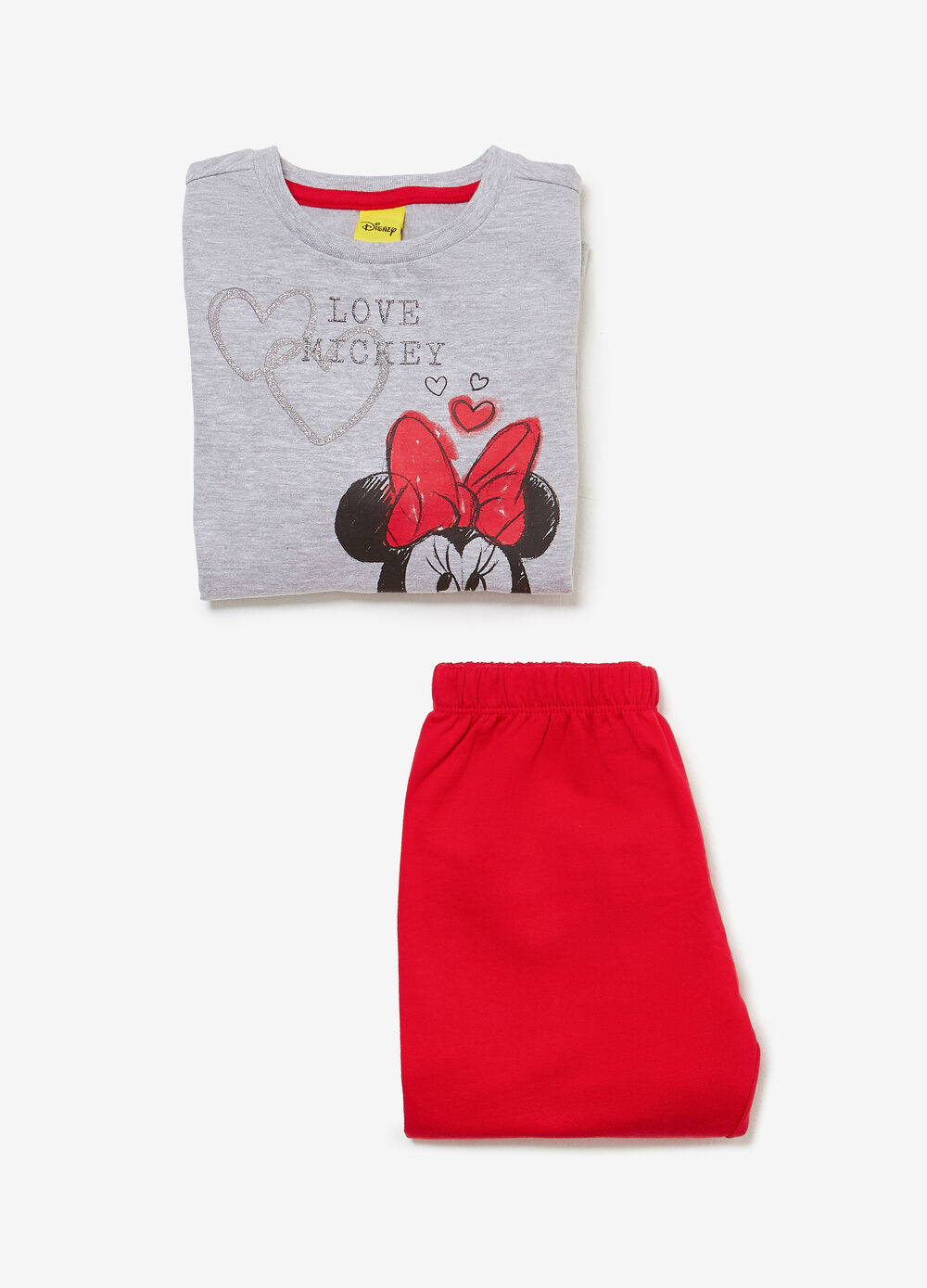 Pyjamas in 100% cotton with Minnie Mouse print
