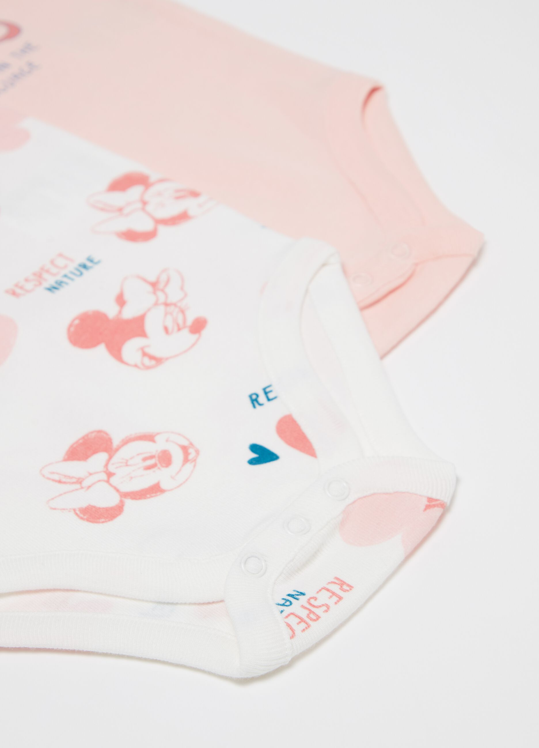 12-18 months Minnie Mouse Pink Bodysuit By Disney Baby