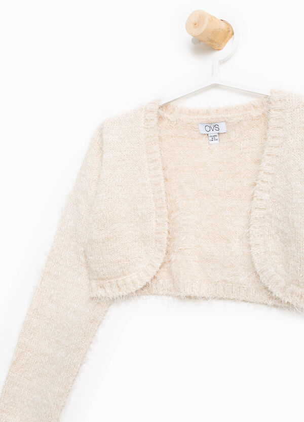 Frayed shrug with lurex | OVS