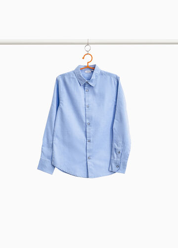 Solid colour 100% cotton shirt