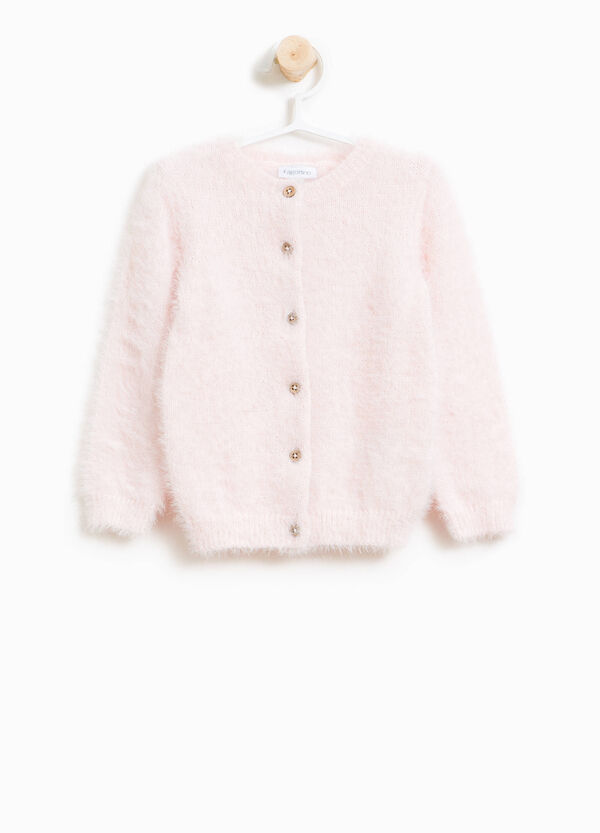 Knitted frayed cardigan | OVS