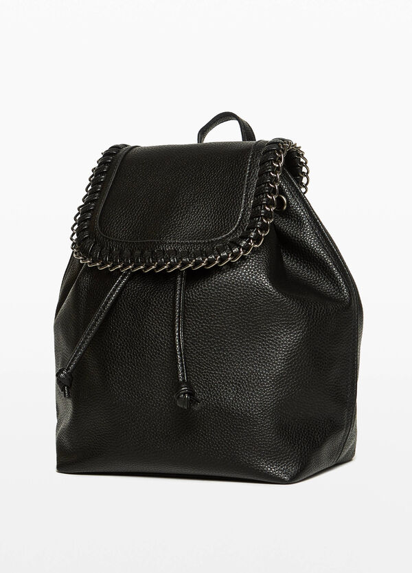 Backpack with chain