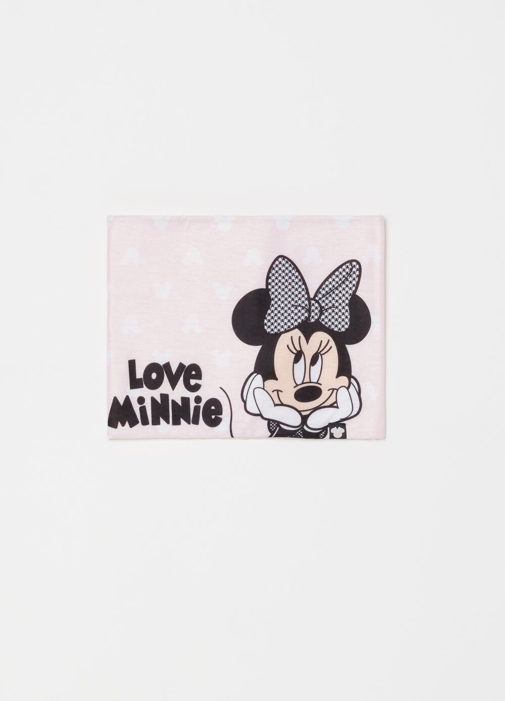 Scarf with Disney Mickey Mouse pattern and print