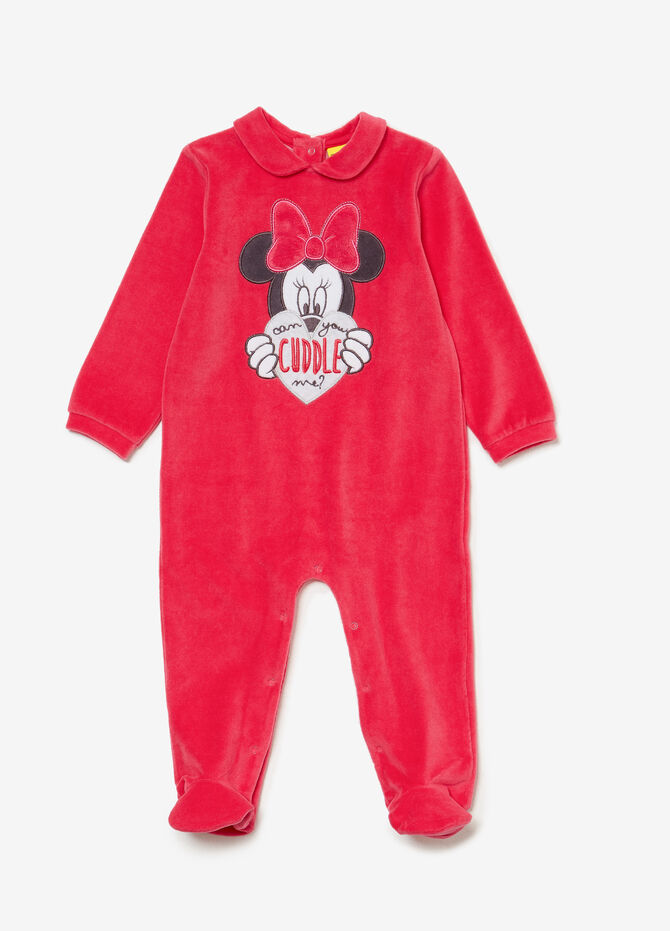 Minnie Mouse BCI sleepsuit in cotton blend