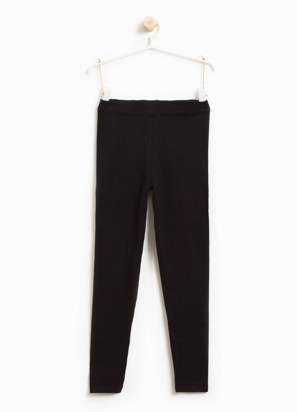 Leggings in misto cotone stretch | OVS