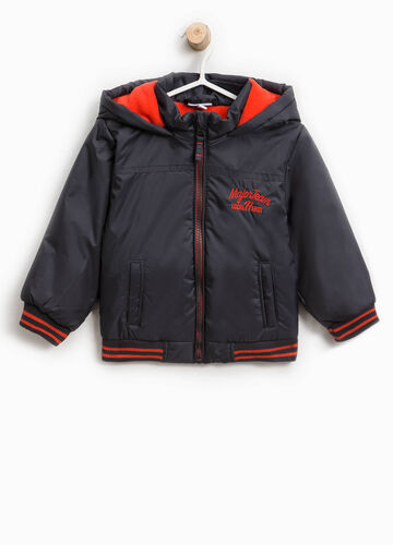 Jacket with lettering print