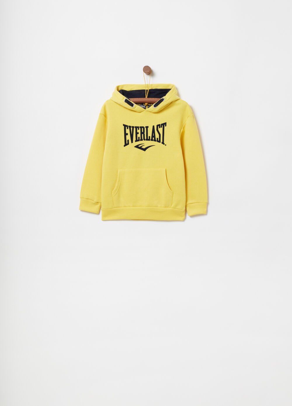 Heavy brushed cotton sweatshirt with print