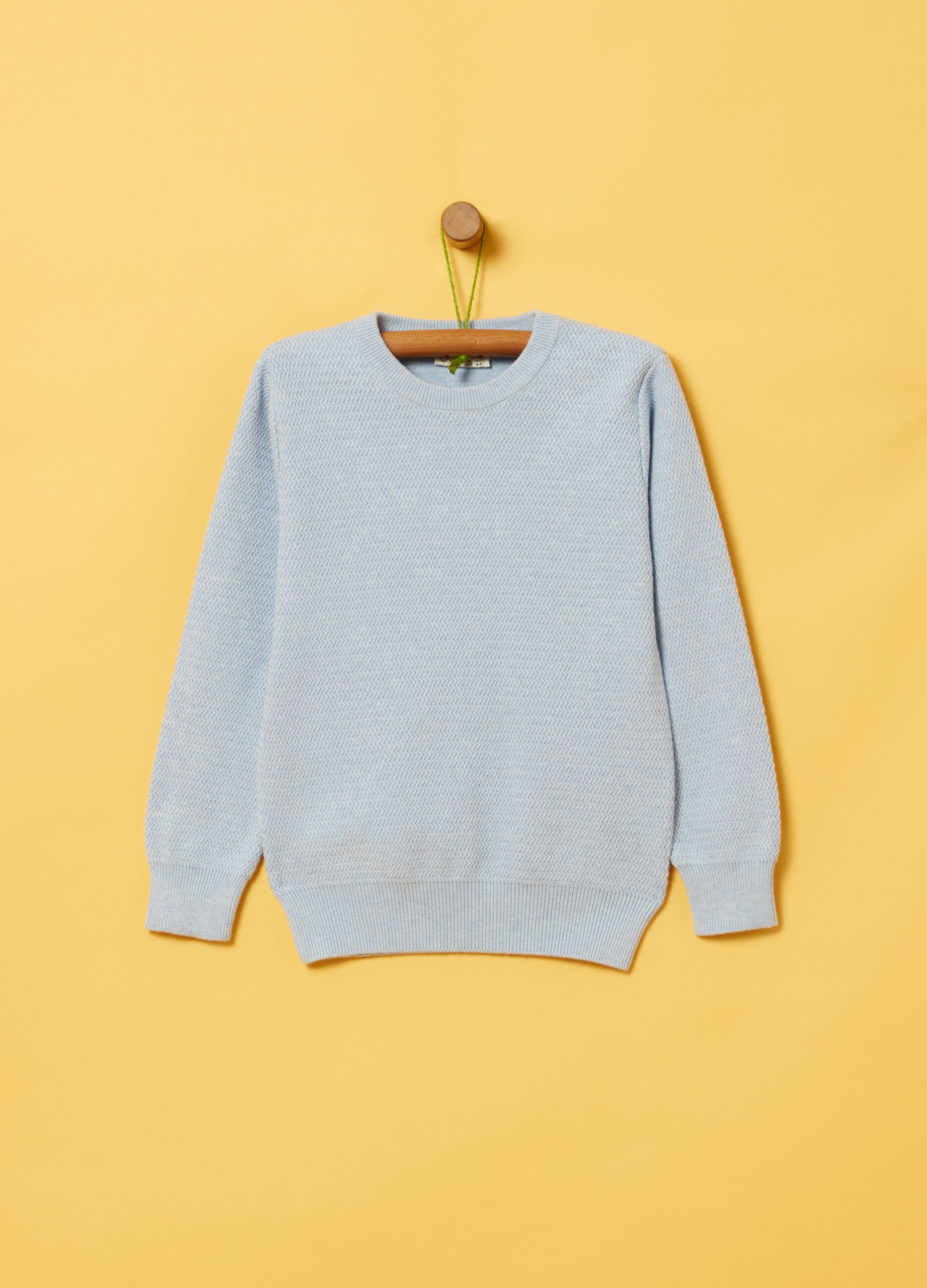 100% organic cotton knitted pullover | OVS ES