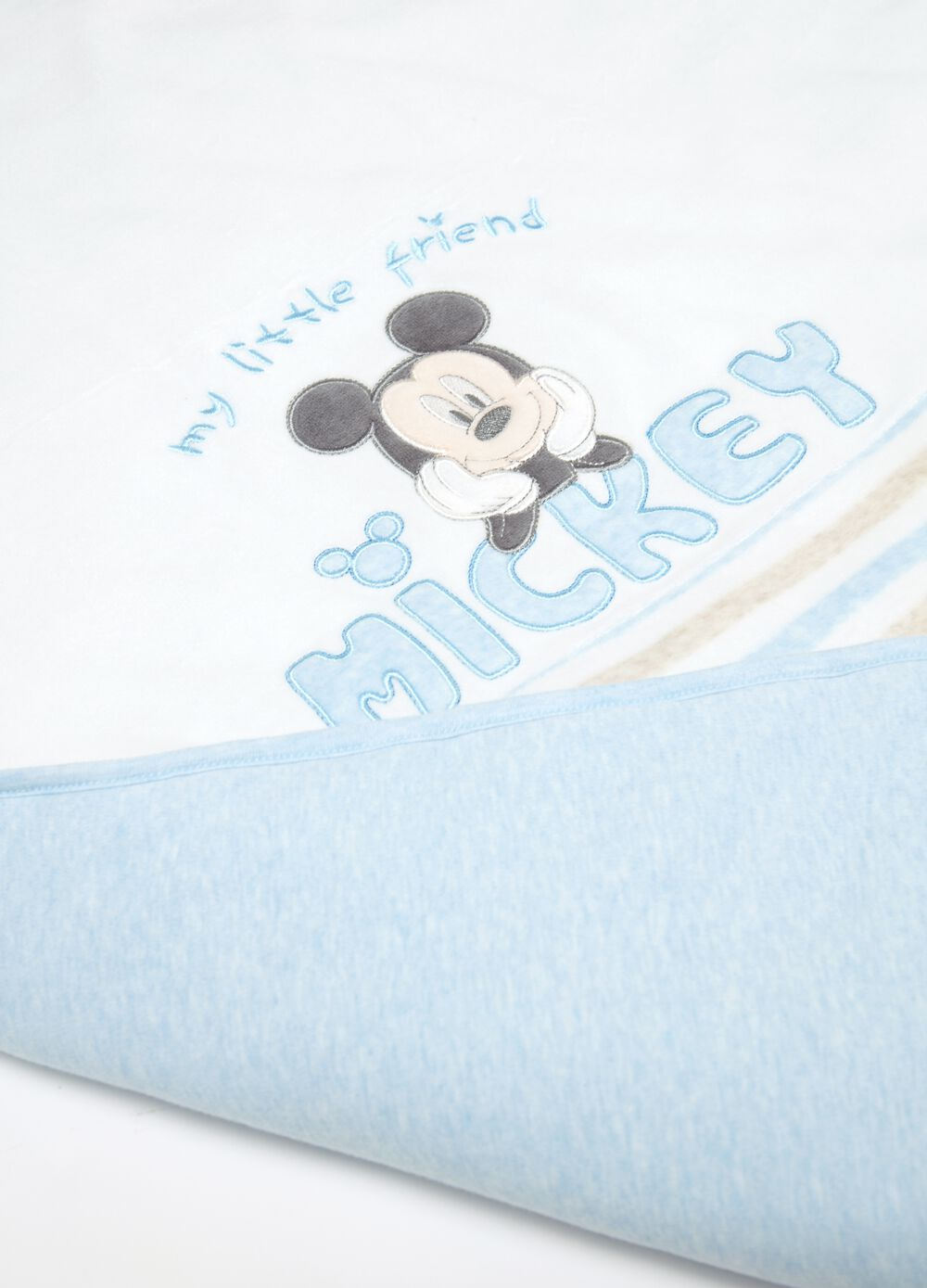 Blanket with Disney Mickey Mouse embroidery